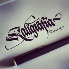Theosone | Facebook #kaligrafia #theosone