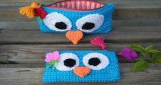 APRENDE HACER MOCHILAS Y CARTUCHERAS TEJIDOS A CROCHET Nº 06   Crochet.eu