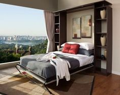 Modern Murphy Beds Ikea Category of Contemporary With Resolution Pixel, posted on Maret Tagged high end murphy beds ikea at Bedroom furniture. Cama Murphy Ikea, Cama Ikea, Ikea Bed, Murphy Bed Couch, Murphy Bed Plans, Small Apartments, Small Spaces, Modern Murphy Beds, Ikea Cabinets