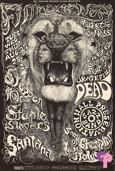 Steppenwolf at Fillmore West 8/27-9/1/68 by Lee Conklin