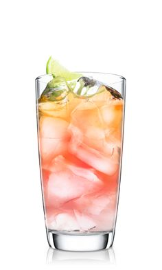 Add a shot of Malibu Original rum to cranberry juice and lemon soda for a refreshing sparkling summer cooler.