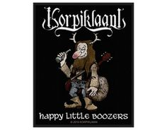 Korpiklaani Happy Little Boozers - Official Patch. Licensed product. FREE SHIPPING.