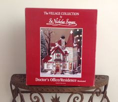 The Village Christmas Collection By St. Nicholas Square Dr.'s Office & Residence