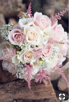 Beautiful wedding flowers - Rather than elaborate and pricy floral arrangements,. Beautiful wedding flowers – Rather than elaborate and pricy floral arrangements,… – Bridal Flowers, Flower Bouquet Wedding, Bouquet Flowers, Astilbe Bouquet, Bouqets, Floral Flowers, Pink Rose Bouquet, Bridal Bouquet Pink, Pink Roses