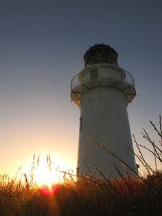 The most easterly lighthouse in the world, East Cape, North Island, New Zealand