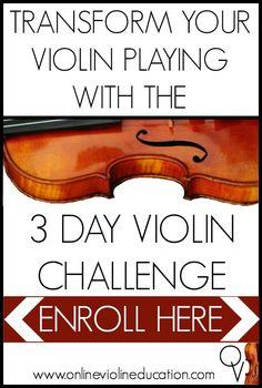 Transform your violin journey in three days…