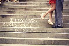 """I love you every step of the way"" | Grey Giraffe Photography"