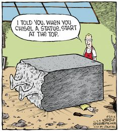 Today on Speed Bump - Comics by Dave Coverly Funny Cartoons, Funny Memes, Hilarious, Jokes, Speed Bump Comic, Funny Things, Funny Stuff, Funny Shit, Random Stuff
