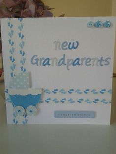 Baby cards handmade grandparents 37 ideas for 2019 Kids Cards, Baby Cards, Craft Cards, New Grandparents, Baby Boy Photography, Baby Boy Photos, Boys Wallpaper, Baby Christening, Trendy Baby