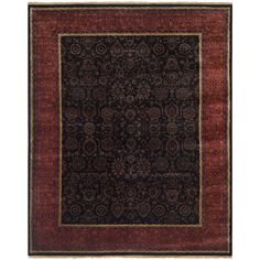 Safavieh Hand-knotted Ganges River / Rust Rug