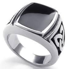 anillo de plata para hombre