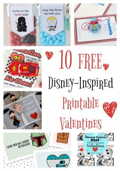 It's Valentine time! Are you ready with a punny item for your kids? Cater to their love of the mouse with these Free Disney Inspired Printable Valentines!