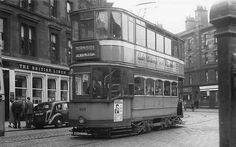 Tram to Burnside, Glasgow Family History Book, Light Rail, Glasgow Scotland, Coaches, Buses, Old Photos, Paisley, Places To Visit, Around The Worlds