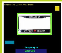Personalized license plate frames 190006 - The Best Image Search
