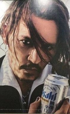 Ashai Beer Billboard March 2018 Oh my lord! Whats On Tv Tonight, Beer Commercials, The Hollywood Vampires, Johny Depp, Love Him, My Love, Hot Actors, Pretty Men, Johnny Was