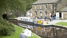 Indulge in a bit of waterways history at Standedge Tunnel and Cafe