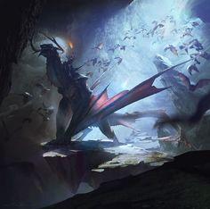 Dragon rider by DrawCrowd