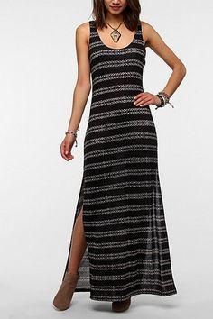 Staring At Stars Knit Maxi Tank Dress