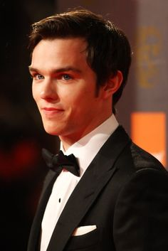 Nicholas Hoult, my my my has he grown into an attractive man lol..LOVE this hair style on men, so polished