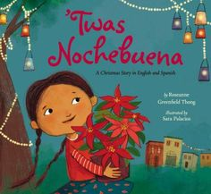 "Explores Latin American traditions for celebrating Christmas Eve in a text that combines English and Spanish words and follows the rhythm of Clement Moore's ""The Night Before Christmas""."