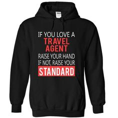 TRAVEL AGENT - STANDARD T-Shirts, Hoodies (39.99$ ==► Order Here!)