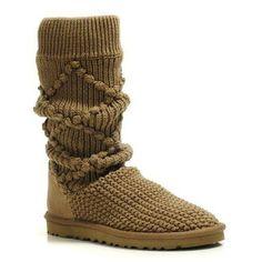 UGG Womens Chestnut Boots 5879 Tall Woolen