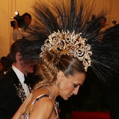 Sarah Jessica Parker with Philip Treacy hat