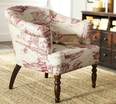 Preston Upholstered Armchair | Pottery Barn