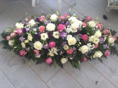Beautiful Funeral Flowers delivered in Colchester Manningtree Essex 01206 394496 Funeral Flower Arrangements, Funeral Flowers, Floral Arrangements, Funeral Sprays, White And Pink Roses, Casket Sprays, Sympathy Flowers, Flowers Delivered, Romantic Flowers