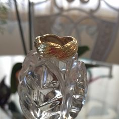 There here!Cocoa Pod ring 18k gold overlay Please let me know below if you would like to purchase so I can make you a separate listing Thank you  I have 3 size 8, and 2 size 7 available. Bronze with 18k gold overlay Anitanja Jewelry Rings