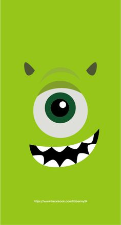 Disney Phone Wallpaper, Cute Wallpaper For Phone, Iphone Background Wallpaper, Locked Wallpaper, Cartoon Wallpaper, Mobile Wallpaper, Monsters Ink, Cartoon Expression, Monster Inc Party