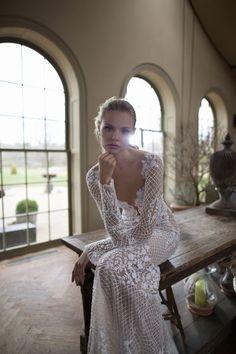 Vestidos de novia con encaje 2017: luce sutil, delicada y elegante Image: 6