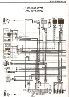 1983 yamaha maxim 750 wiring diagram tr1 xv1000 xv920 wiring diagrams manfred s tr1 page all honda  tr1 xv1000 xv920 wiring diagrams