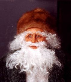 Close-up picture of Santa 4