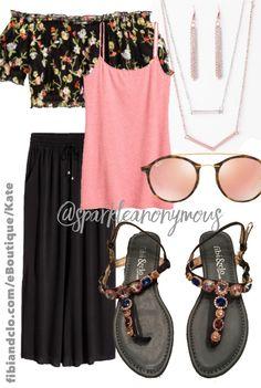 498a517abbd7 fibi   clo Wonderland sandal SHOP  fibiandclo.com eBoutique Kate paired  with H M clothing