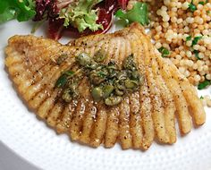Skate meunière with browned butter and capers - Blue Kitchen. If you haven't, you're officially a moron.