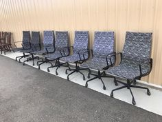 www.M37Auction.com: Herman Miller Mid Century Modern Early Eames Chairs (7)