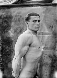 Blog de domvog51 : Bodybuilding Haltérophilie sports combats Cinéma musiques, Bodybuilding Haltérophilie jeux olympiques de 1920 avec Ernest Cadine