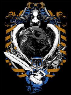 Ravenclaw Crest by jimiyo on deviantART