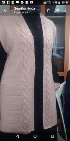 Ladies Cardigan Knitting Patterns, Baby Sweater Knitting Pattern, Crochet Cardigan Pattern, Crochet Stitches Patterns, Sweater Knitting Patterns, Lace Knitting, Knitting Designs, Le Pilates, Creative Knitting
