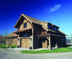 horse barn with paddock doors by Classic Equine Equipment by Classic Equine Equipment, via Flickr