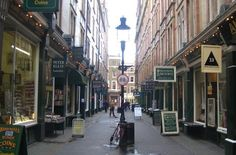 Cecil Court- real inspiration for Diagon Alley