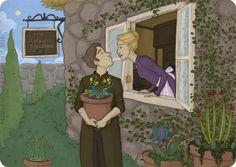 Neville Longbottom se convirtió en profesor de herbología en Hogwarts.Se casó con Hannah Abbott, que se convirtió en la nueva dueña de el Ca...