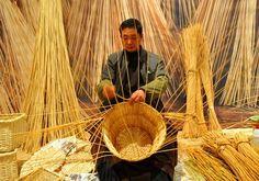 Chinese basket making
