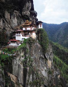 Taktsang (Tiger's Nest monastery), Paro, Bhutan