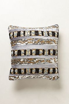 Need this... Sequined Ordon Pillow #anthropologie