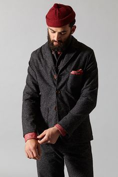 Universal Works - Suit Jacket in Roccia