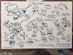 2k12!Mike character chart