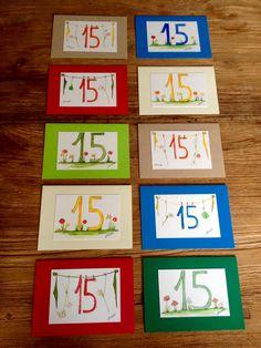 Runde Sachen by Akwarello ** Direkt über den Akwarello-Shop http://de.dawanda.com/shop/Akwarello bestellen! #birthday #Geburtstag#auguri#happy#happybirthday#watercolor#aquarell#glückwünsche#karte#cards#crafting#craft