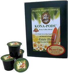 Kona Coffee Blend K-cups for Keurig Coffee Machines, Medium Roast, Box of 12 K-cups Aloha Island Coffee http://www.amazon.com/dp/B00TBVYB72/ref=cm_sw_r_pi_dp_roSrvb13APKVX